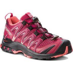 Buty SALOMON - Xa Pro 3D W 404715 21 V0 Beet Red/Cerise./Black. Czarne buty do biegania damskie marki Salomon, z gore-texu, na sznurówki, gore-tex. W wyprzedaży za 399,00 zł.