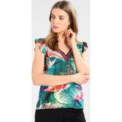 Bluzki asymetryczne: Sisley BLOUSE Bluzka tropical