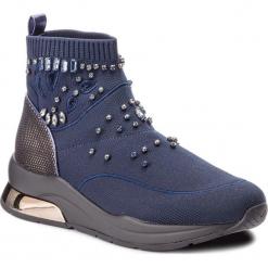 Sneakersy LIU JO - Karlie 10 B68033 TX022 Blue 00009. Niebieskie sneakersy damskie Liu Jo, z materiału. Za 799,00 zł.