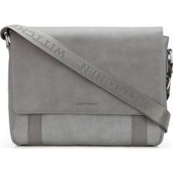 Torba na laptopa 87-4P-501-8. Szare torby na laptopa marki Wittchen, w paski. Za 359,00 zł.