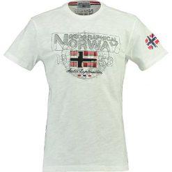 """T-shirty męskie z nadrukiem: Koszulka """"Jamelo"""" w kolorze białym"""