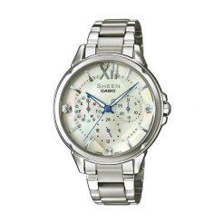 Zegarek Casio Damski Sheen SHE-3056D-7AUER Swarovski MultiData. Szare zegarki damskie CASIO. Za 566,00 zł.