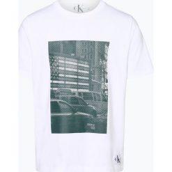 T-shirty męskie z nadrukiem: Calvin Klein Jeans - T-shirt męski, czarny