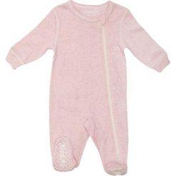Pajacyki niemowlęce: Śpiochy w kolorze jasnoróżowym