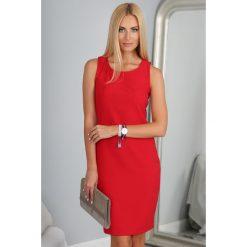 Sukienki: Sukienka Czerwona 9932