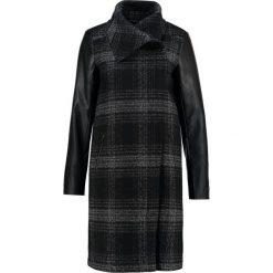 Płaszcze damskie pastelowe: KIOMI Płaszcz wełniany /Płaszcz klasyczny black/white