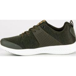 Sznurowane tekstylne obuwie AX BOXING zielone. Zielone buty skate męskie AX BOXING, na sznurówki. Za 99,00 zł.
