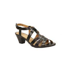 Sandały Caprice  SANDAŁY  9-28201-24. Szare sandały damskie Caprice. Za 139,99 zł.