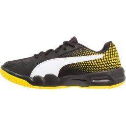 Buty sportowe damskie: Puma VELOZ INDOOR Obuwie do piłki ręcznej black/white/blazing yellow