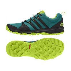 Buty trekkingowe męskie: Adidas Buty męskie Trail Rocker zielone r. 41 1/3 (AQ4885)