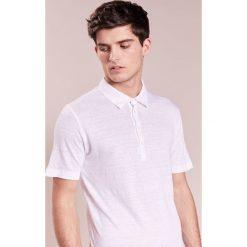 Koszulki polo: 120% Lino UOMO CORTA Koszulka polo white