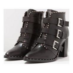 SPM HUBALL Ankle boot black. Czarne botki damskie skórzane marki SPM. Za 509,00 zł.