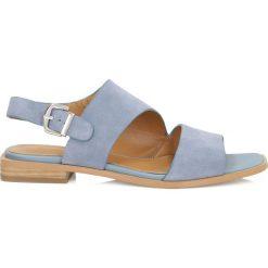 Sandały damskie: Niebieskie sandały damskie