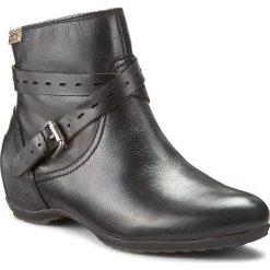 Botki PIKOLINOS - 968-8829 Black. Czarne buty zimowe damskie Pikolinos, z materiału. W wyprzedaży za 379,00 zł.