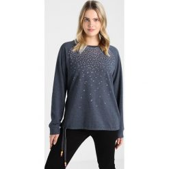 Bluzy rozpinane damskie: Ragwear Plus AVAL ORGANIC PLUS Bluza navy melange