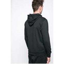 Adidas Performance - Bluza Essentials Linear. Czarne bluzy męskie rozpinane adidas Performance, l, z nadrukiem, z bawełny, z kapturem. Za 249,90 zł.
