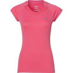 Bluzki damskie: Asics Koszulka Capsleeve Top różowa r. M (129957 0656)