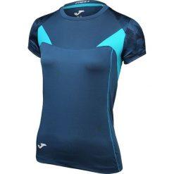 Bluzki sportowe damskie: Joma sport Koszulka damska Venus  granatowo turkusowa r. L (900089.313)