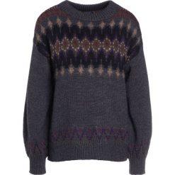 Swetry klasyczne damskie: Polo Ralph Lauren Sweter grey multi
