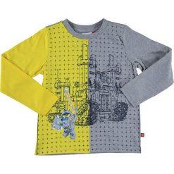 """T-shirty chłopięce z długim rękawem: Koszulka """"Thomas"""" w kolorze szaro-żółtym"""