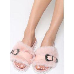 Klapki damskie: Różowe Klapki Candy Bar