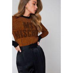 Swetry klasyczne damskie: By Malene Birger Sweter Leggasi – Orange