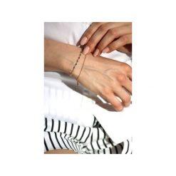 Bransoletka Spinel Metalizowany złoto. Żółte bransoletki damskie na nogę Brazi druse jewelry, srebrne. Za 150,00 zł.