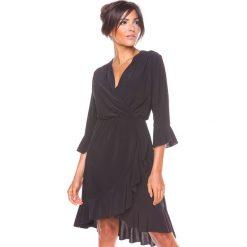 """Sukienki hiszpanki: Sukienka """"Rita"""" w kolorze czarnym"""