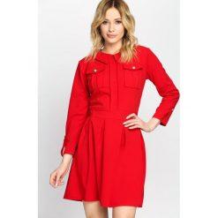 Czerwona Sukienka Believe It. Czerwone sukienki mini marki other, uniwersalny. Za 89,99 zł.