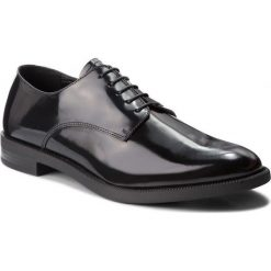 Półbuty EMPORIO ARMANI - X4C510 XF252 00002 Black. Czarne półbuty skórzane męskie marki Emporio Armani. Za 1109,00 zł.