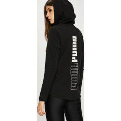 Puma - Bluza. Czarne bluzy z kapturem damskie Puma, m, z bawełny. W wyprzedaży za 219,90 zł.