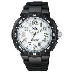 Zegarek Q&Q VR88-001 Męski Wodoszczelny. Czarne zegarki męskie Q&Q. Za 121,15 zł.