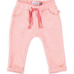Spodnie niemowlęce: Spodnie w kolorze koralowym