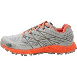 Buty do biegania damskie: The North Face ULTRA ENDURANCE Obuwie do biegania Szlak high rise grey/nasturtium orange