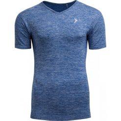 Koszulka treningowa męska TSMF601 - GRANATOWY MELANŻ - Outhorn. Niebieskie odzież termoaktywna męska Outhorn, m, melanż, z materiału. W wyprzedaży za 41,99 zł.