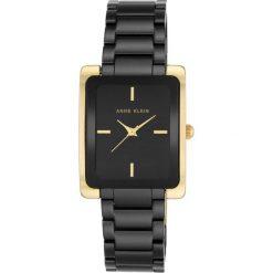 Zegarek Anne Klein Damski  AK/2952BKGB Gold and Black. Czarne zegarki damskie Anne Klein. Za 547,99 zł.