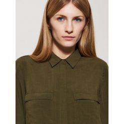 Gładka koszula - Zielony. Zielone koszule damskie marki House, l. Za 59,99 zł.