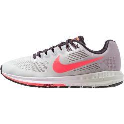 Nike Performance AIR ZOOM STRUCTURE 21 Obuwie do biegania Stabilność atmosphere grey/hot punch/barely grey/oil grey. Szare buty do biegania damskie Nike Performance, z materiału. Za 509,00 zł.