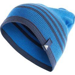 Czapki męskie: Adidas Czapka męska Tiro Beanie BQ1659 niebieska (OSFM – BQ1659)
