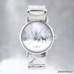 Zegarek - Sarenki - marmurkowy, nato. Szare zegarki damskie Pakamera. Za 129,00 zł.