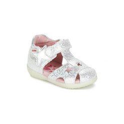 Sandały Dziecko  Agatha Ruiz de la Prada  LUCIE. Różowe sandały dziewczęce marki New Balance, na lato, z materiału. Za 195,30 zł.