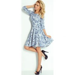 Sukienki: Elisa Sukienka KOŁO z rękawkiem
