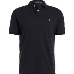Polo Ralph Lauren CUSTOM SLIM FIT Koszulka polo polo black. Szare koszulki polo marki Polo Ralph Lauren, z bawełny. Za 419,00 zł.