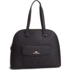 Torebka WITTCHEN - 87-4-704-1 Czarny. Czarne torebki klasyczne damskie marki Wittchen, ze skóry. W wyprzedaży za 489,00 zł.