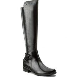 Buty zimowe damskie: Oficerki CAPRICE - 9-25523-29 Black Nappa 022