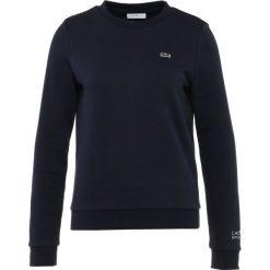 Lacoste Sport Bluza navy blue. Niebieskie bluzy rozpinane damskie Lacoste Sport, z bawełny. Za 379,00 zł.