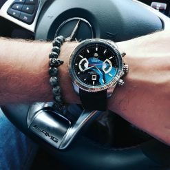 Biżuteria i zegarki: Bransoletka męska GREY SWAG