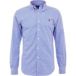 Polo Ralph Lauren SLIM FIT Koszula royal/white. Szare koszule męskie slim marki Polo Ralph Lauren, l, z bawełny, button down, z długim rękawem. Za 459,00 zł.