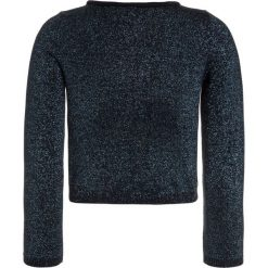 Jottum CARDIGAN KITAMI Kardigan paisley blue. Niebieskie swetry chłopięce Jottum, paisley, z bawełny. W wyprzedaży za 254,25 zł.