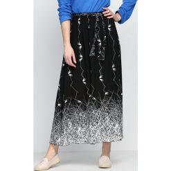 Długie spódnice: Czarna Spódnica Fowl